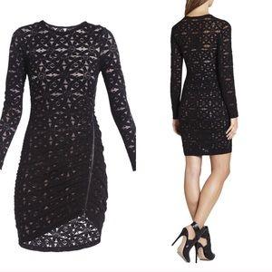 BCBGMaxAzria Dresses - Black Lace Dress